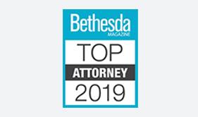 Bethesda Magazine Top Attorneys badge